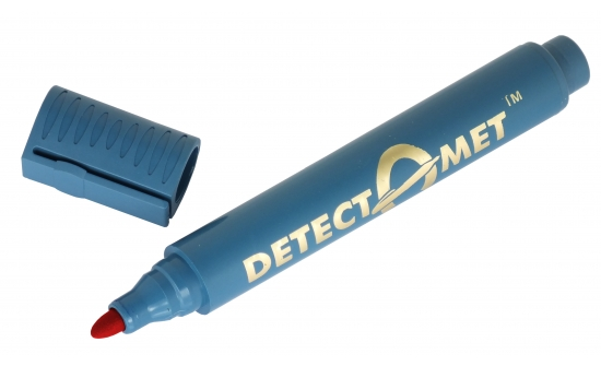 Detectable-Permanent-Marker-Pen-Red0031BT
