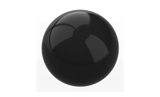 test-ball-black