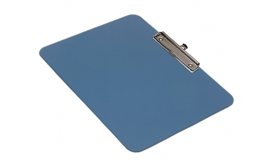 detectable-a4-landscape-clipboard-with-economy-chrome-clip-blue