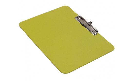 detectable-a4-landscape-clipboard-with-economy-chrome-clip-yellow