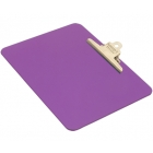 detectable-a4-landscape-clipboard-with-stainless-steel-clip-purple