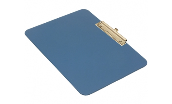 detectable-a4-landscape-clipboard-with-stainless-steel-economy-clip-blue