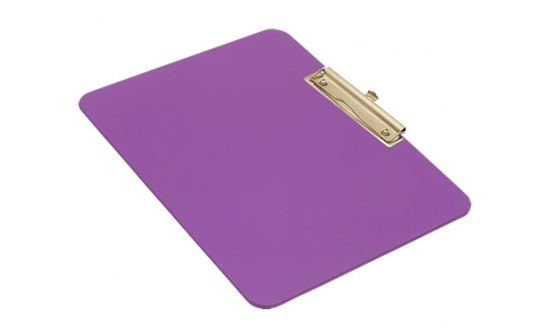 detectable-a4-landscape-clipboard-with-stainless-steel-economy-clip-purple