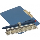 detectable-a4-landscape-clipboard-with-zinc-plated-clip-pen-holder-blue