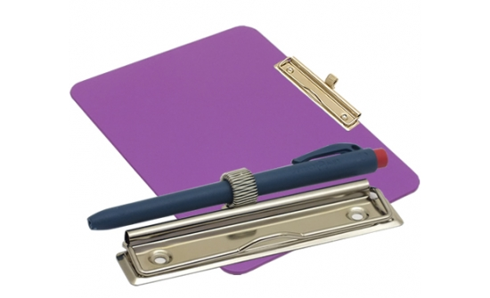 detectable-a4-landscape-clipboard-with-zinc-plated-clip-pen-holder-purple
