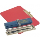 detectable-a4-landscape-clipboard-with-zinc-plated-clip-pen-holder-red