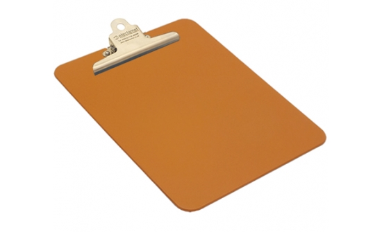 detectable-a4-portrait-clipboard-with-stainless-steel-clip-orange