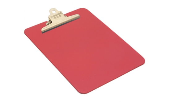 detectable-a4-portrait-clipboard-with-stainless-steel-clip-red