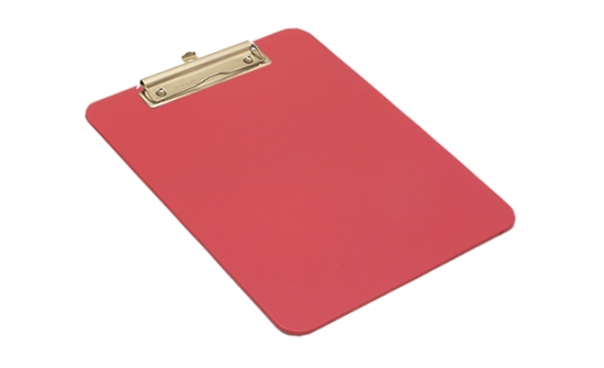 detectable-a4-portrait-clipboard-with-stainless-steel-economy-clip-red