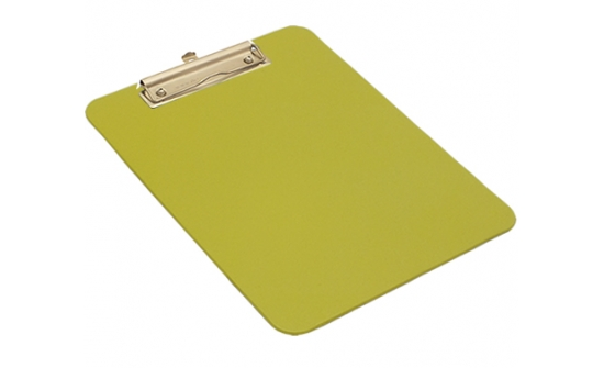 detectable-a4-portrait-clipboard-with-stainless-steel-economy-clip-yellow