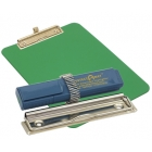 detectable-a4-portrait-clipboard-with-zinc-plated-clip-pen-holder-green