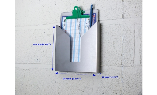 clipboard holder A4 with extras
