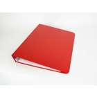 red ringbinder closed